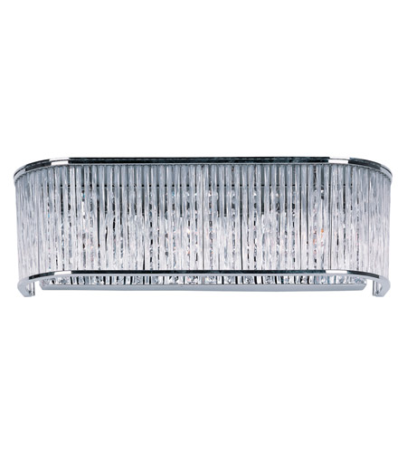 Maxim 39711CLPC Swizzle 3 Light 18 inch Polished Chrome Bath Light Wall Light photo thumbnail