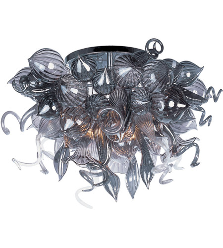 Maxim Lighting Mimi LED 12 Light Semi Flush Mount in Polished Chrome 39720FMPC photo