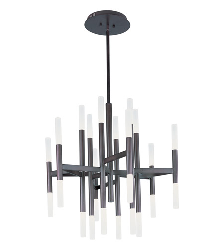 Maxim 39756FTBZ Pinnacle LED 34 inch Bronze Single-Tier Chandelier Ceiling Light photo