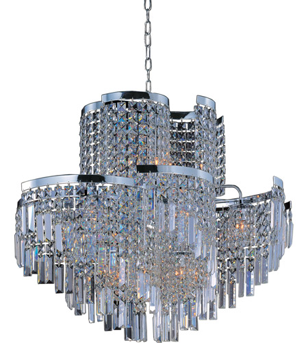 Maxim 39806bcpc Belvedere 19 Light 31 Inch Polished Chrome