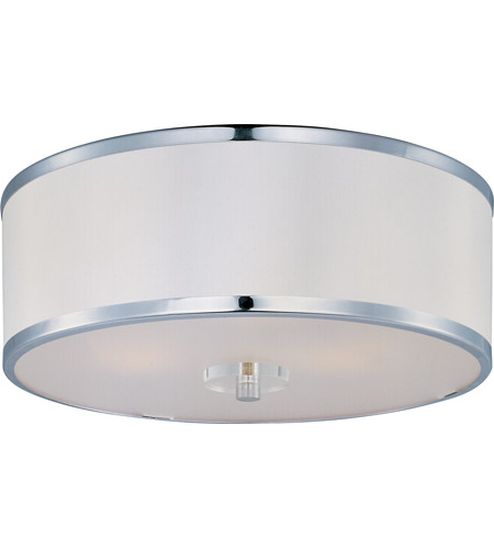 Maxim Lighting Metro 3 Light Flush Mount in Polished Chrome 39821BCWTPC photo