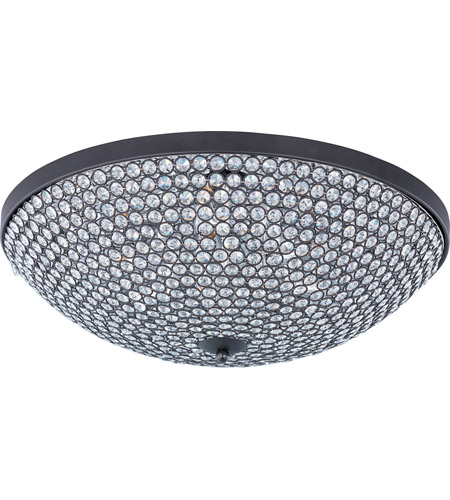 Maxim 39873BCBZ Glimmer 9 Light 22 inch Bronze Flush Mount Ceiling Light photo