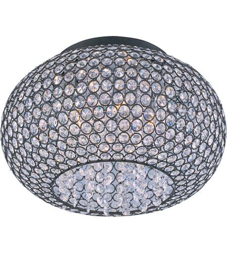 69c0859f13e Maxim 39875BCBZ Glimmer 5 Light 15 inch Bronze Flush Mount Ceiling Light