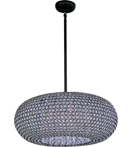 Maxim Lighting Glimmer 9 Light Pendant in Bronze 39879BCBZ photo