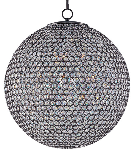 Maxim 39887BCBZ Glimmer 12 Light 24 inch Bronze Single Tier Chandelier Ceiling Light photo