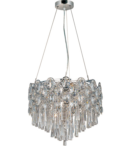 Maxim 39924BCPC Jewel 12 Light 18 inch Polished Chrome Pendant Ceiling Light photo