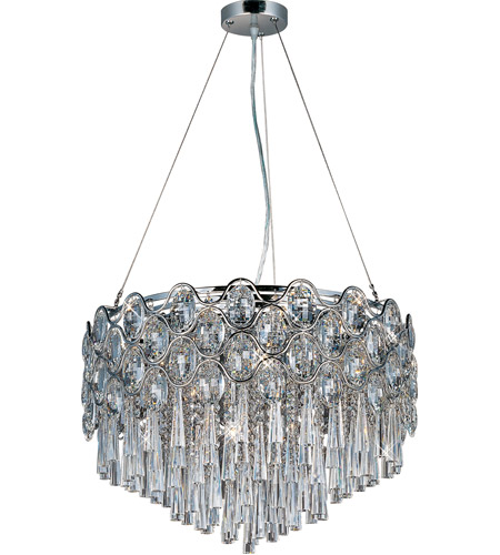 Maxim Lighting Jewel 20 Light Pendant in Polished Chrome 39925BCPC photo