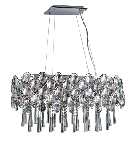 Maxim Lighting Jewel 19 Light Pendant in Polished Chrome 39926BCPC photo