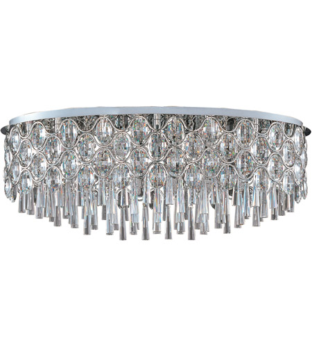 Maxim Lighting Jewel 23 Light Flush Mount in Polished Chrome 39928BCPC photo