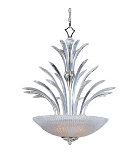 Maxim Lighting Paradise 4 Light Pendant In Plated Silver 39943cybcps