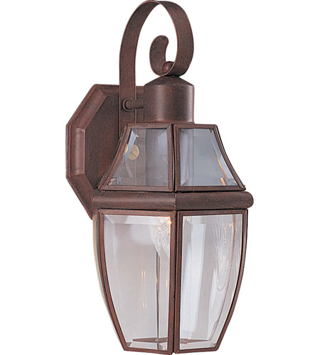 Maxim Lighting South Park 1 Light Outdoor Wall Mount in Pewter 4011CLPE photo
