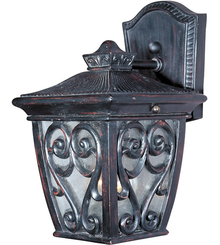 Maxim 40122CDOB Newbury VX 1 Light 9 inch Oriental Bronze Outdoor Wall Mount photo