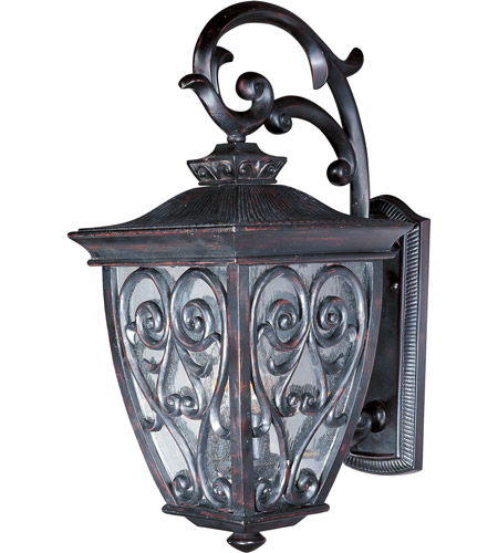 Maxim Lighting Newbury VX 2 Light Outdoor Wall Mount in Oriental Bronze 40123CDOB photo