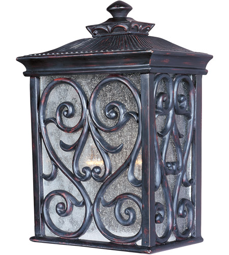 Maxim Lighting Newbury VX 2 Light Outdoor Wall Mount in Oriental Bronze 40127CDOB photo