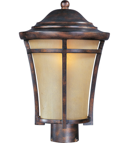 Maxim 40160GFCO Balboa VX 1 Light 16 inch Copper Oxide Outdoor Pole/Post Lantern photo