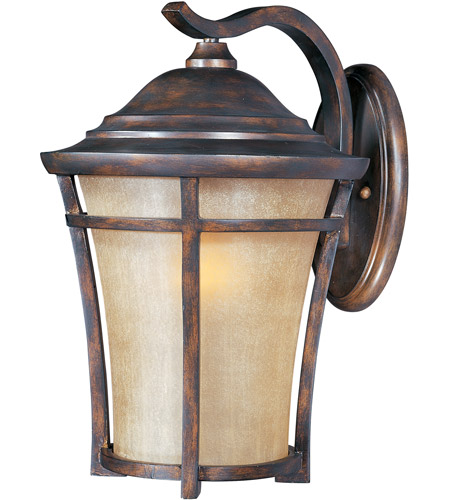 Maxim Lighting Balboa VX 1 Light Outdoor Wall Mount in Copper Oxide 40165GFCO photo