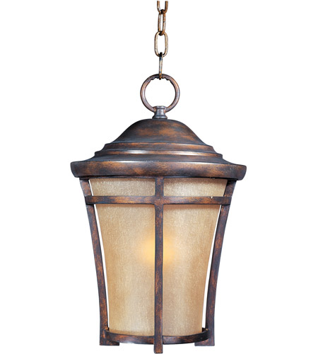 Maxim Lighting Balboa VX 1 Light Outdoor Hanging Lantern in Copper Oxide 40167GFCO photo