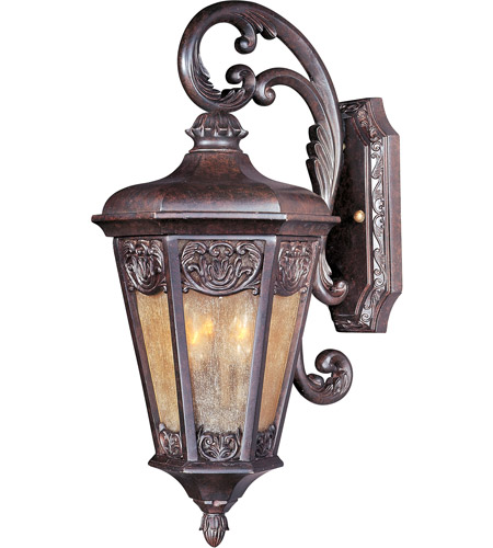 Maxim Lighting Lexington VX 2 Light Outdoor Wall Mount in Colonial Umber 40173NSCU photo
