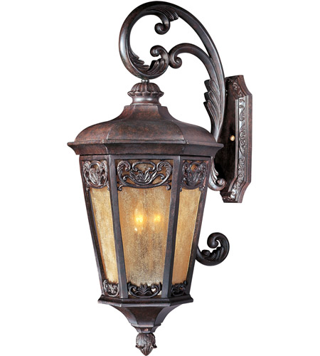 Maxim Lighting Lexington VX 3 Light Outdoor Wall Mount in Colonial Umber 40175NSCU photo