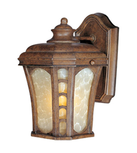 Maxim Lighting Lake Shore VX 1 Light Outdoor Wall Mount in Antique Pecan 40182LTAP photo