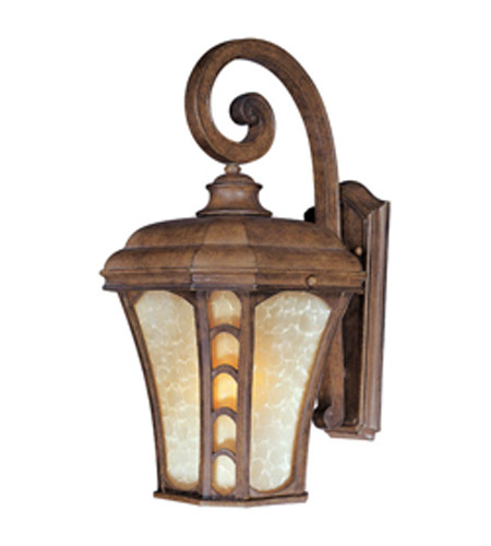 Maxim Lighting Lake Shore VX 1 Light Outdoor Wall Mount in Antique Pecan 40184LTAP photo
