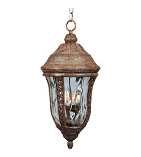 Maxim Lighting Whittier VX 3 Light Outdoor Hanging Lantern in Earth Tone 40210WGET photo