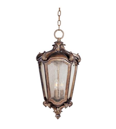 Maxim Lighting Bastille Vx Vivex 3 Light Outdoor Hanging Lantern In Walnut 40228nswn