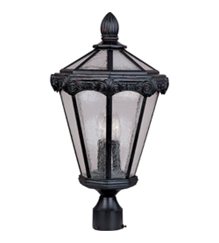 Maxim Lighting Es Vx Vivex 3 Light Outdoor Pole Post Lantern In Oriental Bronze 40250cdob