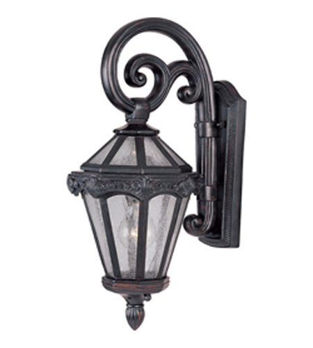 Maxim Lighting Essex VX 1 Light Outdoor Wall Mount in Oriental Bronze 40253CDOB photo