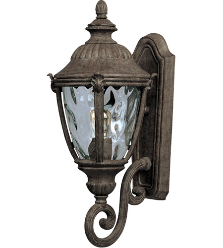 Maxim 40284WGET Morrow Bay VX 1 Light 20 inch Earth Tone Outdoor Wall Mount photo