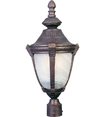 Maxim Lighting Wakefield 1 Light Outdoor Pole/Post Lantern in Empire Bronze 4030MREB photo