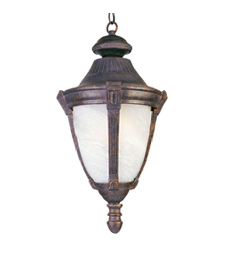 Maxim Lighting Wakefield 1 Light Outdoor Hanging Lantern in Empire Bronze 4037MREB photo