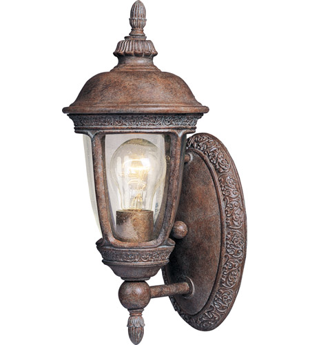 Maxim 40462CDSE Knob Hill VX 1 Light 14 inch Sienna Outdoor Wall Mount photo