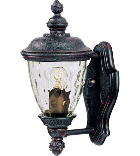 Maxim 40495WGOB Carriage House VX 1 Light 13 inch Oriental Bronze Outdoor Wall Mount photo