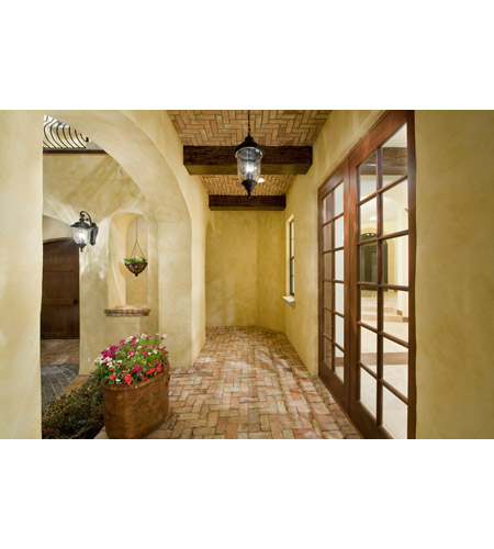 Maxim 40498WGOB Carriage House VX 3 Light 31 inch Oriental Bronze Outdoor Wall Mount alternative photo thumbnail