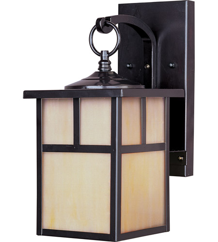 Maxim Lighting Coldwater 1 Light Outdoor Wall Mount in Burnished 4053HOBU photo