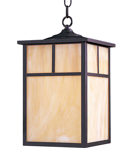 Maxim 4058HOBU Coldwater 1 Light 9 inch Burnished Outdoor Hanging Lantern photo