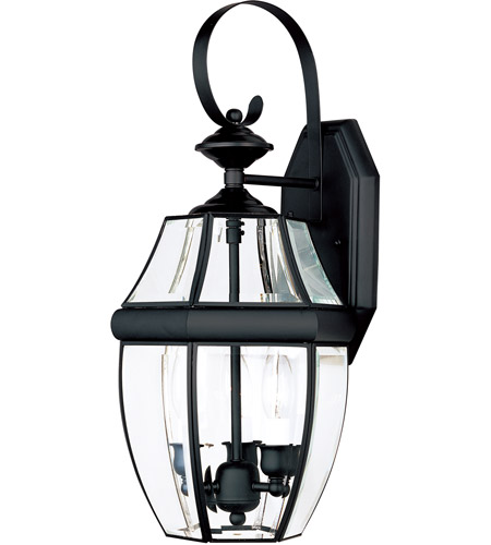 Maxim Lighting South Park 3 Light Outdoor Wall Mount in Black 4191CLBK photo