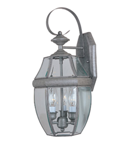 Maxim Lighting South Park 3 Light Outdoor Wall Mount in Pewter 4191CLPE photo