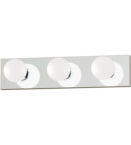 Maxim 4453PC Essentials 3 Light 18 inch Polished Chrome Bath Light Wall Light in 18 in. photo