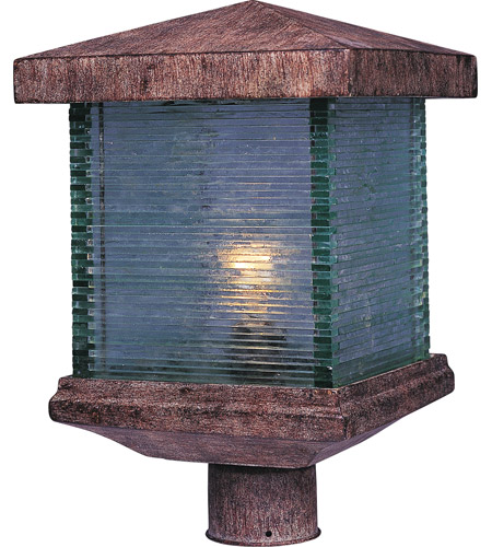 Maxim 48735CLET Triumph VX 1 Light 15 inch Earth Tone Outdoor Pole/Post Lantern photo
