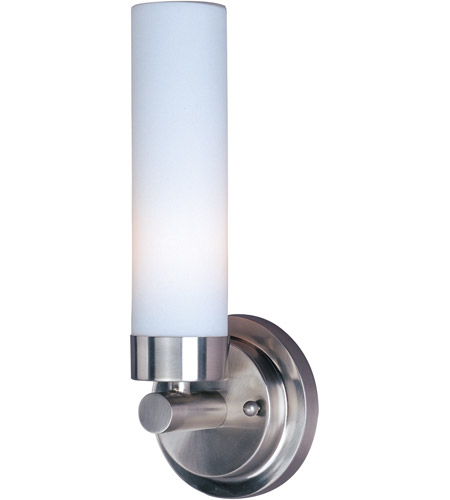 Maxim Lighting Cilandro 1 Light Wall Sconce in Satin Nickel 53006WTSN photo