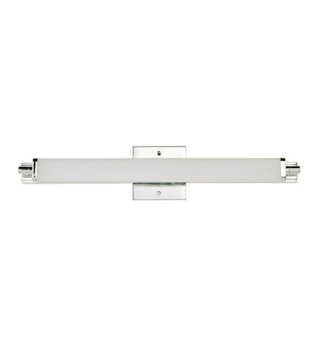 Maxim 53033WTPC Director LED 24 Inch Polished Chrome Bath Vanity Wall Light
