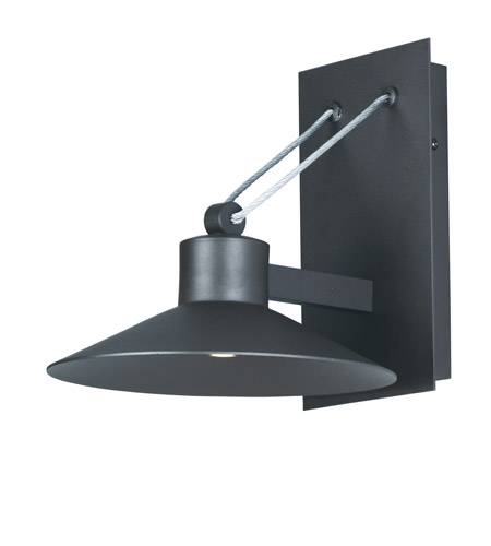 Maxim 54363ftabz civic led 10 inch architectural bronze outdoor wall mount photo
