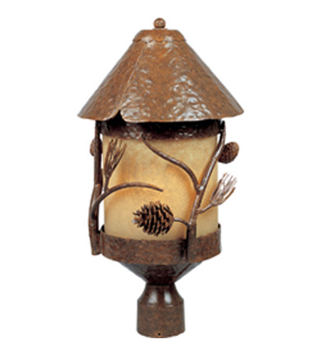 Maxim Lighting Pine Grove 1 Light Outdoor Pole Post Lantern In Tree 5521vapt