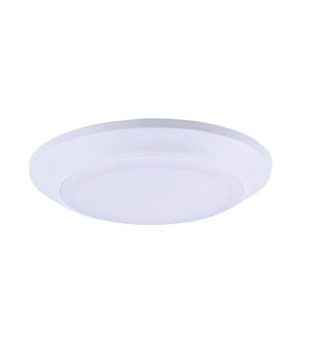 Maxim 57625WTWT Diverse LED 8 inch White Flush Mount Ceiling Light