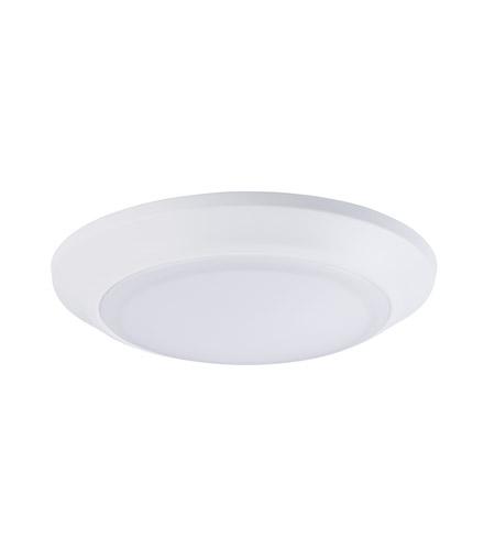maxim 57637wtwt diverse led led 8 inch white flush mount ceiling light photo