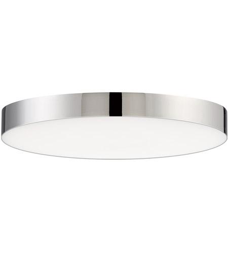 Trim Led 7 Inch Polished Chrome Flush Mount Ceiling Light