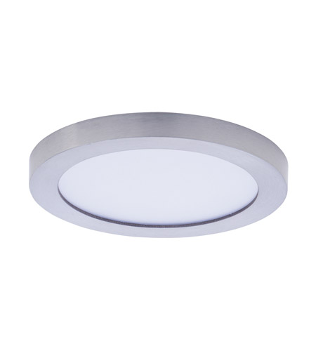 Maxim 57710wtsn Wafer Led 5 Inch Satin Nickel Flush Mount Ceiling Light Photo