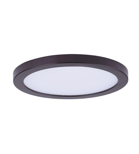 Maxim 57712wtbz wafer led 7 inch bronze flush mount ceiling light aloadofball Gallery
